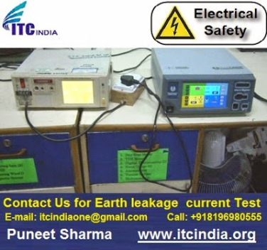 earth leakage testing procedure | Electrical Safety Testing Lab