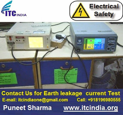 Contact Us for earth leakage current Testing