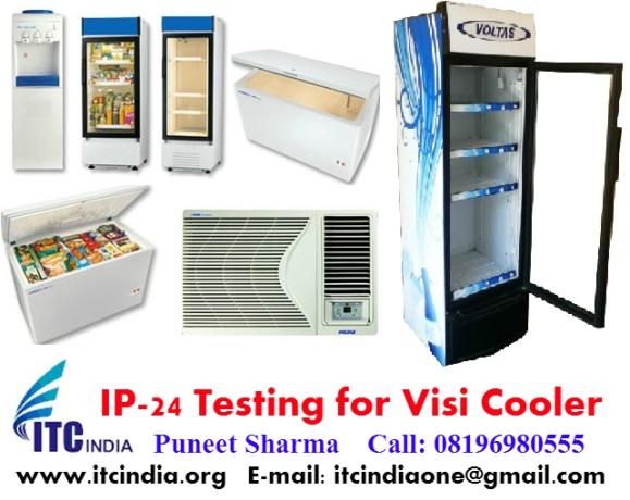 IP 24 Testing for Visi Cooler 220L, 320L, 425L