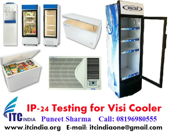 IP 24 Testing for Visi Cooler 220L, 320L, 425L