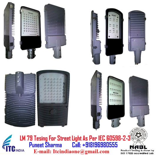 LM 79 Tesing For Street Light As Per IEC 60598-2-3