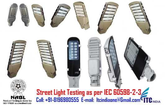 Street Light testing as per IEC 60598-2-3