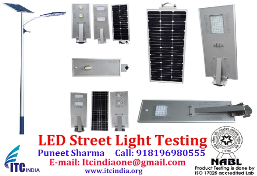 LED Street Light Testing India