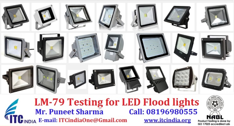 LM-79 Testing for LED Flood lights