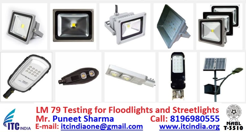 LM 79 Testing for LED Floodlights and LED Streetlights