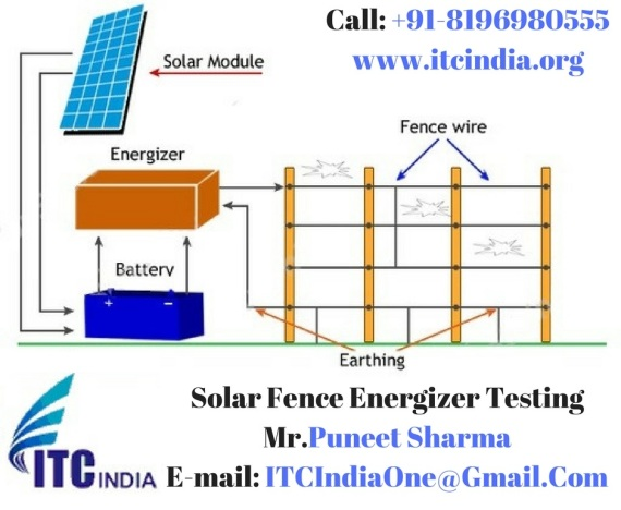 Solar Fence Energizer Testing