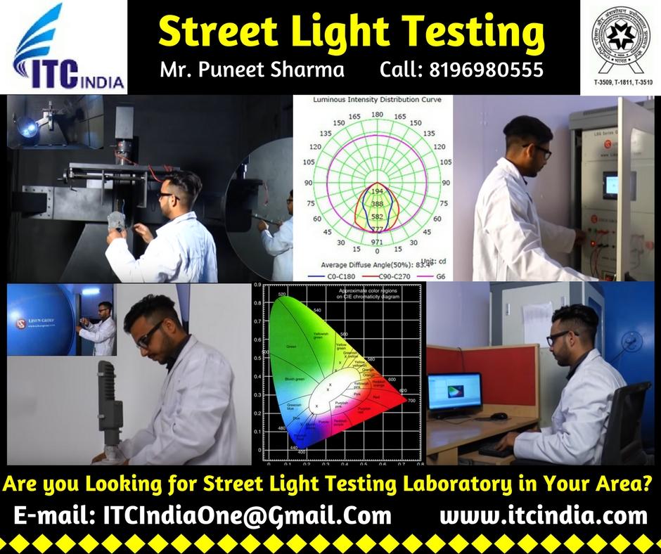 Street Light Testing Laboratory Lm 79 Testing Laboratory