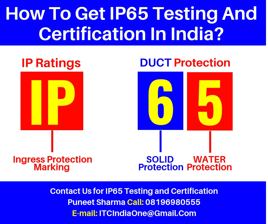 How To Get IP65 Testing And Certification In India?