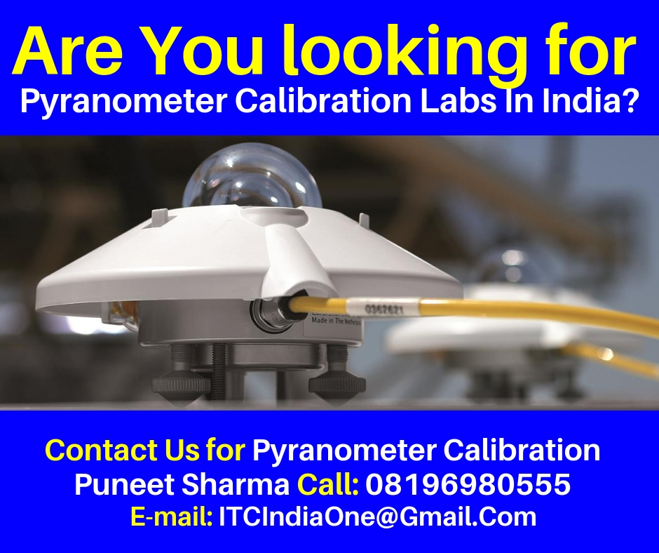 Are You Looking for Pyranometer Calibration Labs In India?