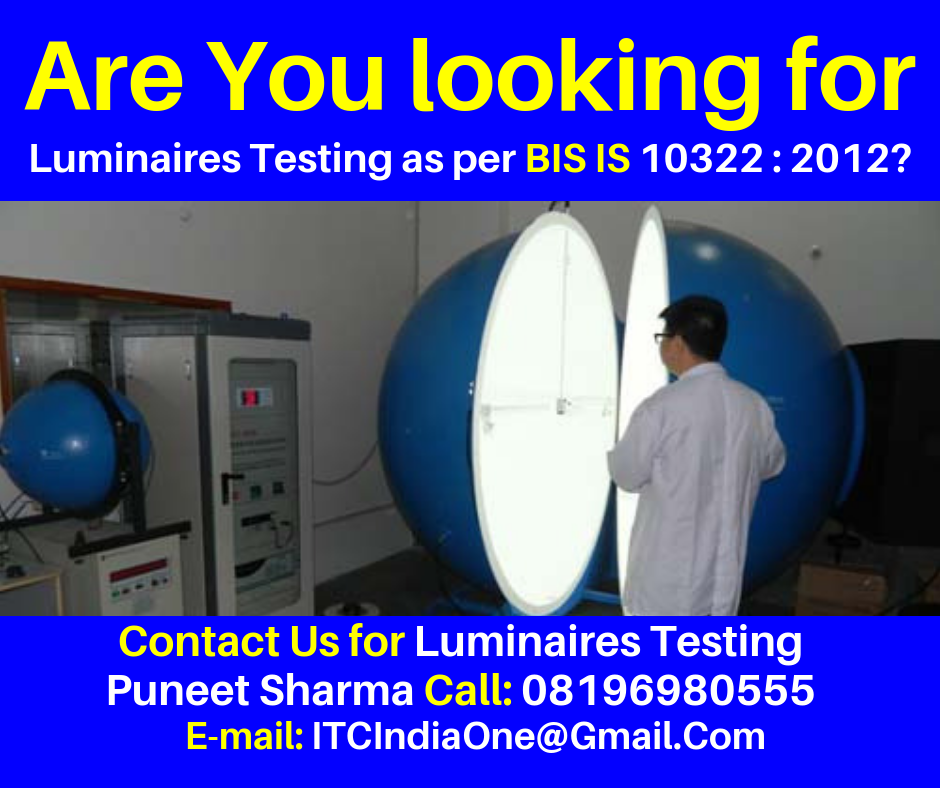 BIS Approved Labs for LED Testing