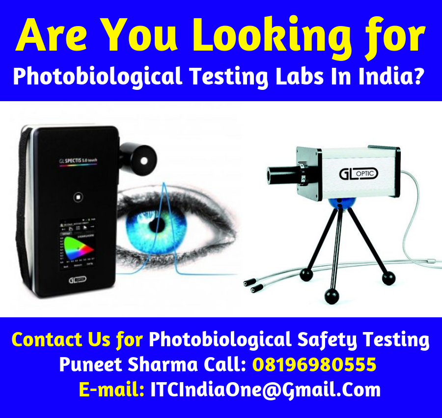 Are You Looking for Photobiological Testing Labs In India?